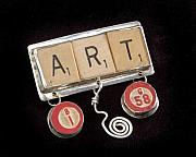 Sterling Silver Jewelry - Art Pendant by Cheryl Strait