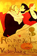 Henri De Toulouse-lautrec Paintings - Art Poster by Pg Reproductions