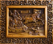 Orthodox Reliefs - Art Theme of the Saint John by Goran