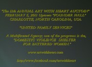 Charity Sculptures - Art With Heart Auction by Phillip H George
