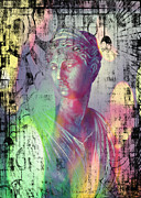 Goddess Digital Art Mixed Media - Artemis by Liona Toussaint