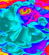 Computer Generated Flower Prints - Artfully Playful  Print by Kim Galluzzo-Wozniak