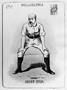 Philadelphia Phillies Metal Prints - Arthur Irwin (1858-1921) Metal Print by Granger
