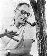 Playwright Framed Prints - Arthur Miller 1915-2005 American Framed Print by Everett