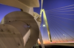 Lines Originals - Arthur Ravenel Jr. Bridge Charleston SC by Dustin K Ryan