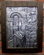 Featured Reliefs Originals - Arthur The King by Cacaio Tavares