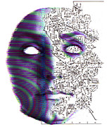 Merging Photo Prints - Artificial Intelligence Print by Neal Grundy