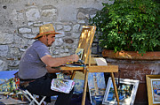 Martina Fagan - Artist in Lazise.Italy .