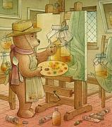 Honey Framed Prints - Artist Framed Print by Kestutis Kasparavicius