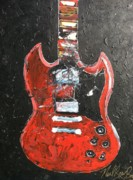 Rock And Roll Painting Originals - Artista elgeneral numro uno by Neal Barbosa