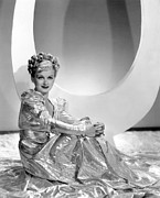 Gold Lame Photo Prints - Artists And Models Abroad, Joan Bennett Print by Everett