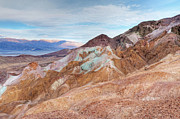 Panamint Valley Photos - Artists Palette Death Valley by Dean Pennala