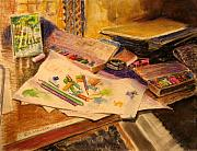 Desk Originals - Artists Sty by Bill Meeker