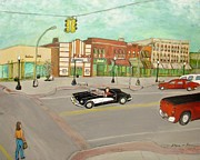 Traffic Light Drawings - Arts of Lapeer by Sharon Lee Samyn