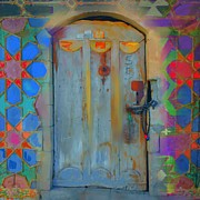 Turkish Paintings - Artsy Door by Seema Sayyidah