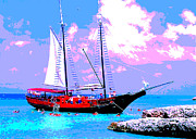 Aruba Adventure Print by Jerome Stumphauzer