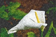 Arum Lily Framed Prints - Arum Lilly Painting Framed Print by Dawn OConnor