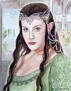 Arwen Print by Mamie Greenfield