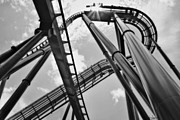 Roller Coasters Framed Prints - As Beautiful As Life Can Be Framed Print by Janie Johnson