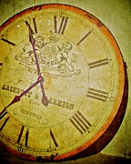 Clock Hands Acrylic Prints - As Time Goes By Acrylic Print by Odd Jeppesen