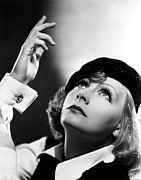 Cufflinks Posters - As You Desire Me, Greta Garbo, Portrait Poster by Everett