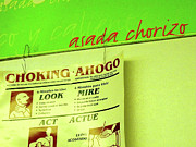 Acrylic Art Photo Posters - Asada Choke - izo Poster by Joe JAKE Pratt