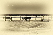 Park Benches Photos - Asbury Benches by John Rizzuto
