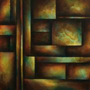 Steps Painting Posters - Ascending Light Poster by Michael Lang
