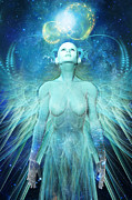 Dream Digital Art Posters - Ascension Poster by John Edwards