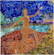 Mosaic Mixed Media Originals - Ascension of Youth by Jonathan Mandell