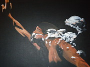 Athletic Painting Originals - Ascent by Diana Prickett