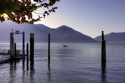 Mountain View Framed Prints - Ascona - Lago Maggiore Framed Print by Joana Kruse