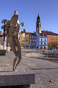 Sculpture Art Prints - Ascona - Switzerland Print by Joana Kruse