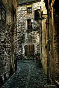 Pavement Metal Prints - Ascona Metal Print by Joana Kruse