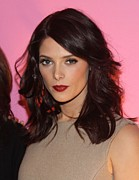 2010s Makeup Posters - Ashley Greene At Arrivals For Inside Poster by Everett