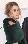 Hair Bun Framed Prints - Ashley Olsen At Arrivals For The Framed Print by Everett