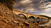 Derwent Reservoir Prints - Ashopton Viaduct Print by Nigel Hatton