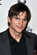 Release Prints - Ashton Kutcher At Arrivals For Half Print by Everett