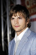 Griffith Framed Prints - Ashton Kutcher At Arrivals For Open Framed Print by Everett