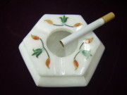 Handcrafted Ceramics - Ashtray by mohammad Azhar