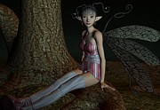 Fay Prints - Asian Fae Print by Amanda Partenheimer