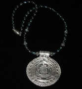 Freshwater Pearls Jewelry Originals - Asian Medallion by Louise Musto-Choate