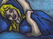 Asleep Print by Kamil Swiatek
