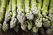 Fresh Food Framed Prints - Asparagus Framed Print by Elena Elisseeva