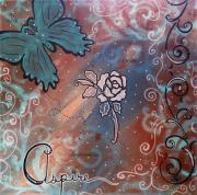 Inspirational Paintings - Aspire by MADART by Megan Duncanson