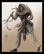 Assassin Print by Antoine Ridley