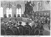 Trial Art - Assassination Trial, 1881 by Granger