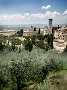 Assisi Italy - Bella Vista - 02 Print by Gregory Dyer
