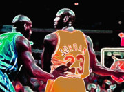 Nba Digital Art Posters - Assist Poster by Brandon Ramquist