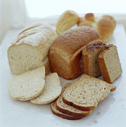 Sliced Bread Prints - Assorted Breads Print by David Munns